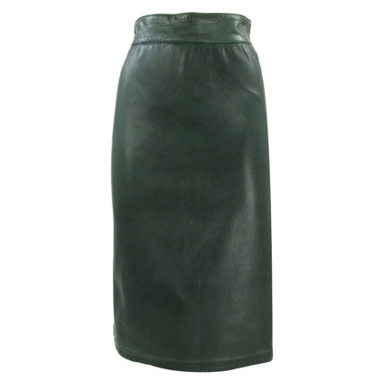 Christian Dior dior leather skirt