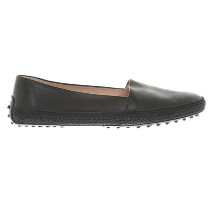 Tod's Leather-Loafer in black