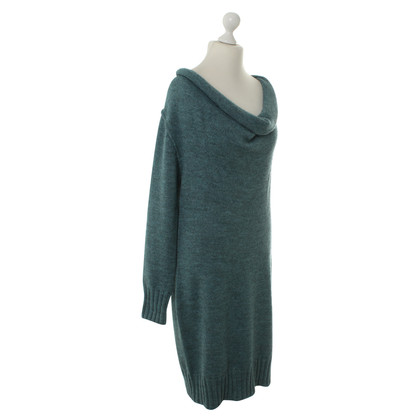 Escada Knit dress with waterfall neck