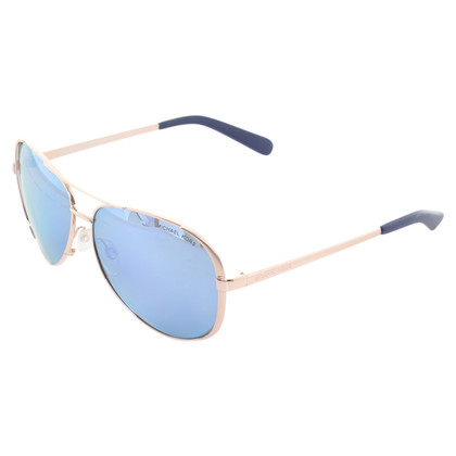 Michael Kors Rosé-gold Aviator sunglasses