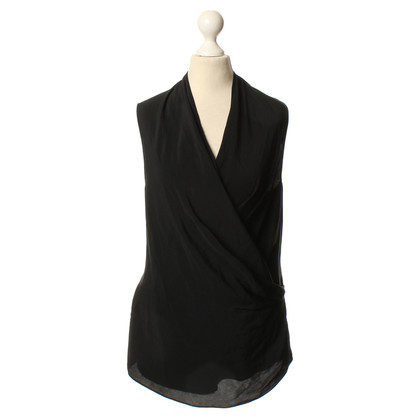Victoria Beckham Sleeveless blouse in black