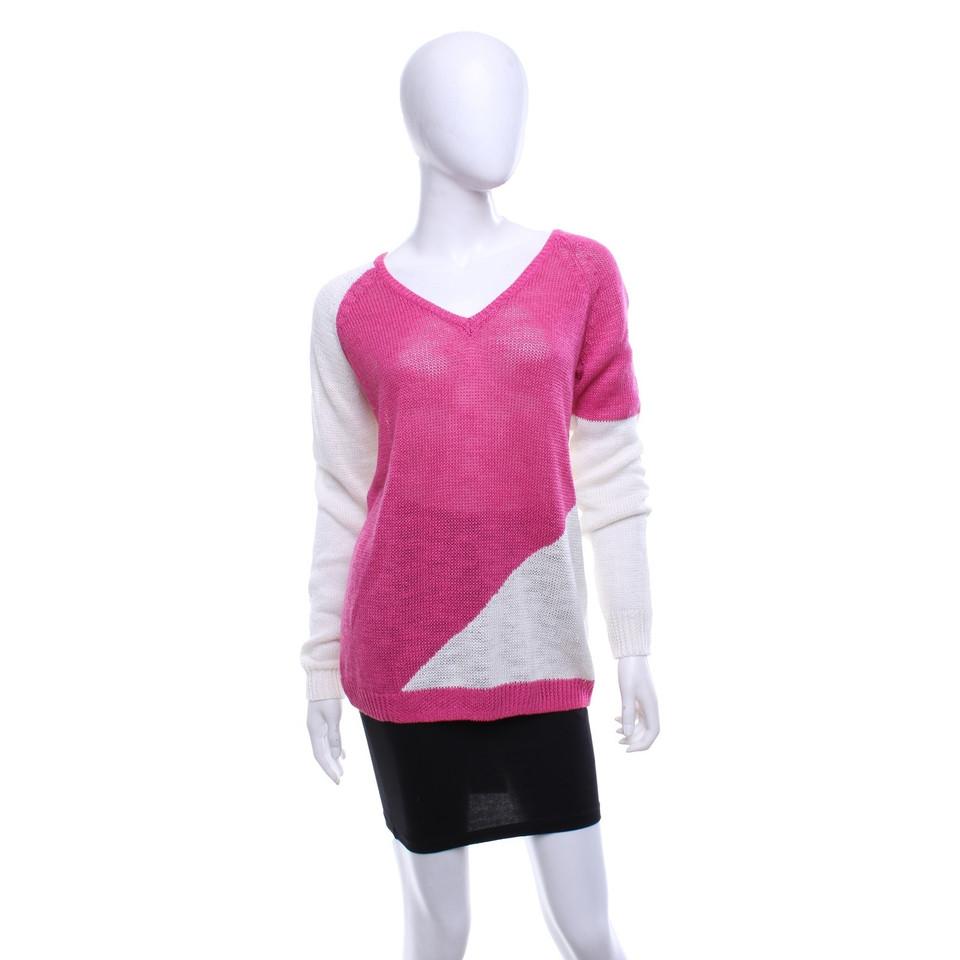360 Sweater Pull en bicolore