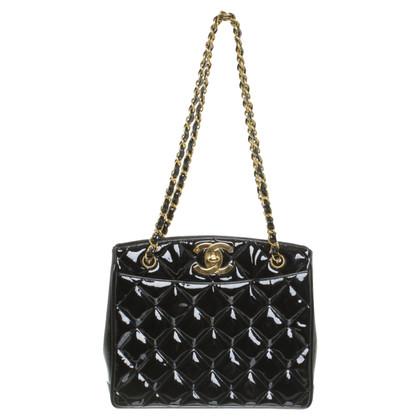 Chanel Patent leather shoulder bag