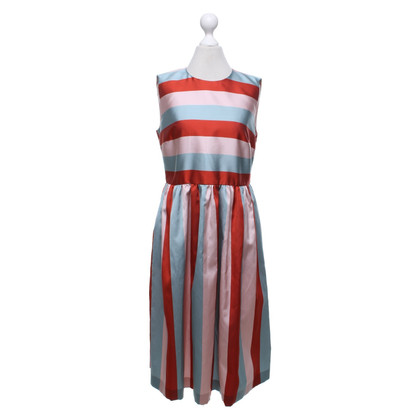 Red Valentino Dress with stripe pattern