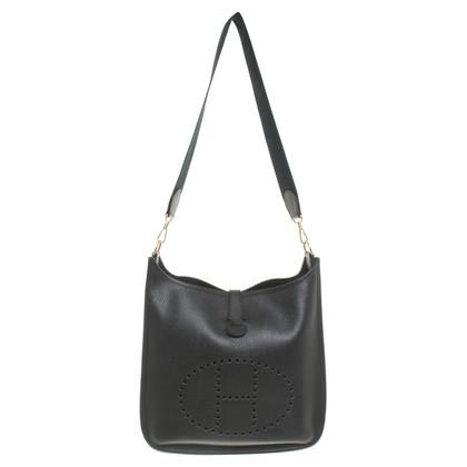 """Hermès """"Evelyne Bag"""" in nero"""
