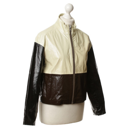 Ganni Patent leather jacket