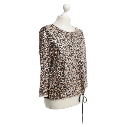 Diane von Furstenberg top with sequins