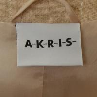 Akris Kostuum in crème
