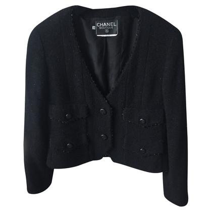 Chanel zwarte jas