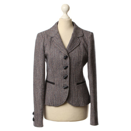 Armani Jeans Blazer with Web pattern