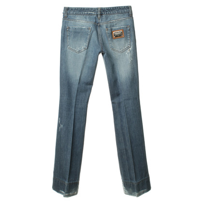 Dolce & Gabbana Jeans with used look