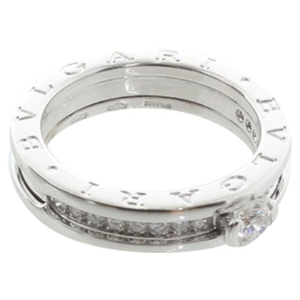 Bulgari  Ring white gold