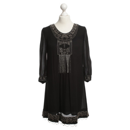 Anna Sui Kleid mit Applikation