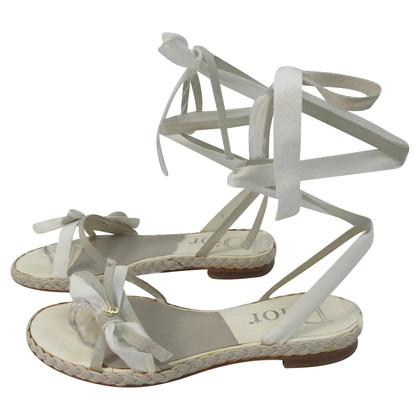 Christian Dior Lace - up sandals