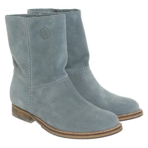 the latest 55888 992cd Armani Jeans Stivaletti in Pelle scamosciata - Second hand ...