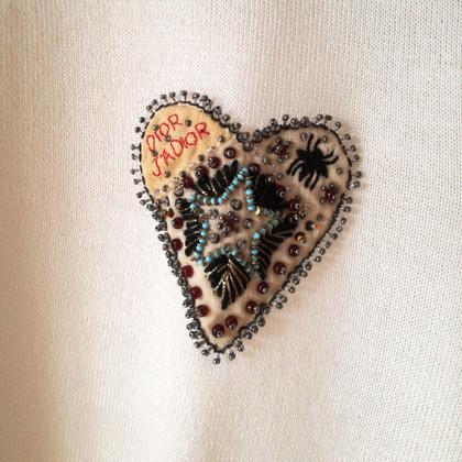 Christian Dior Maglione in cashmere / seta