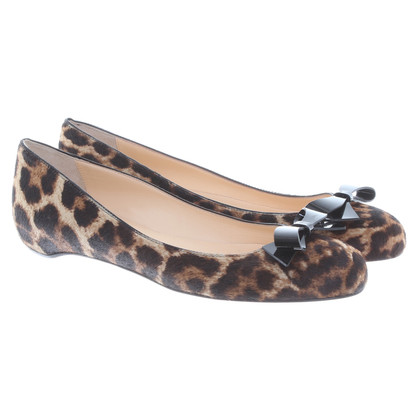 Christian Louboutin Animal print ballerinas