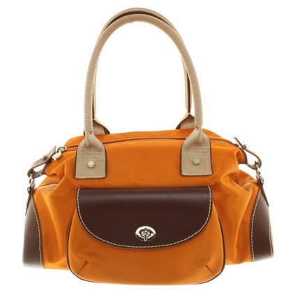 Lancel Handtasche in Orange
