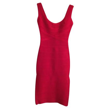 Herve Leger Rotes Kleid