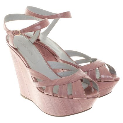 Sergio Rossi Wedges in pink