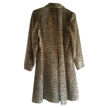 Yves Saint Laurent Mantel im Leoparden-Look