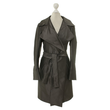 Aigner Coat with geometric pattern