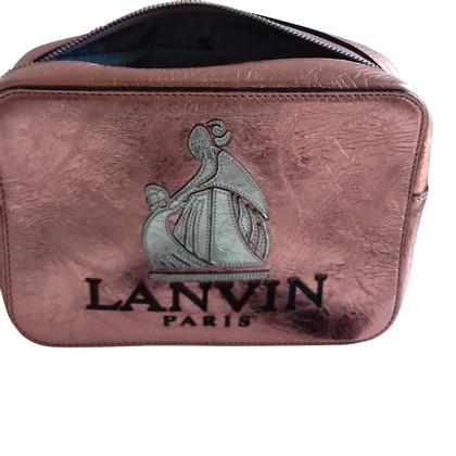 Lanvin Borsa a tracolla con applicazione logo