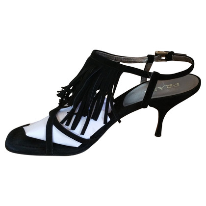 Prada Sandals with fringe