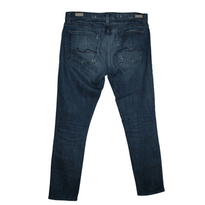 7 For All Mankind Jeans with studs and rhinestones