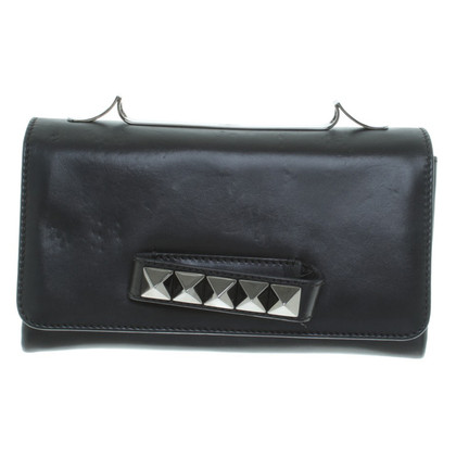 Valentino clutch with rhinestones