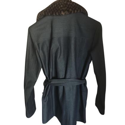 Louis Vuitton Jacke mit Nerz-Kragen