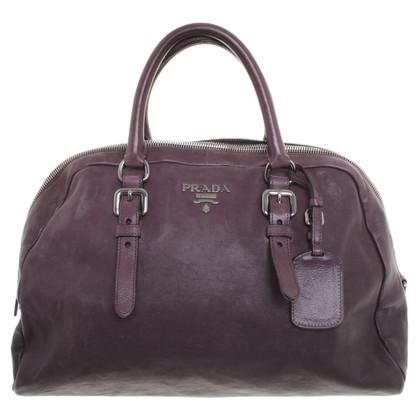Prada Handtasche in Aubergine
