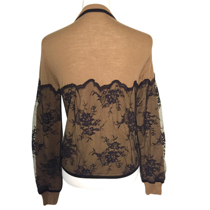 Twin-Set Simona Barbieri Classy vest with lace