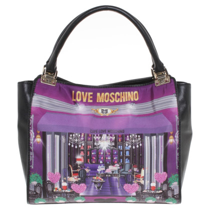 Moschino Handbag with motif print