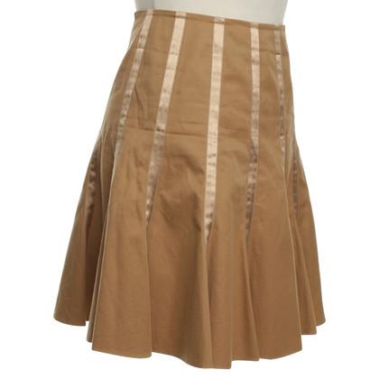 Blumarine Folding skirt in brown