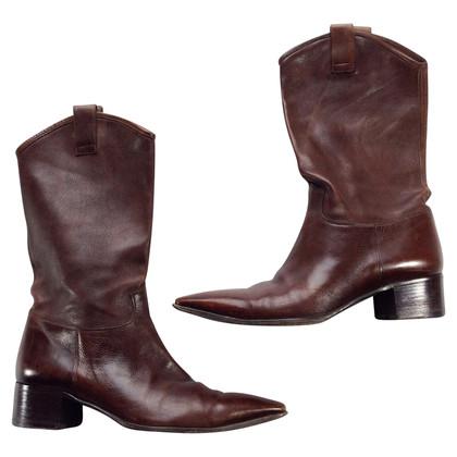Santoni Stivali stile cowboy