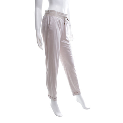 Fabiana Filippi Sweatpants in light beige