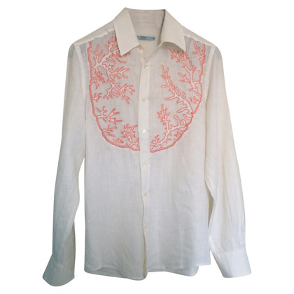 Red Valentino linen blouse