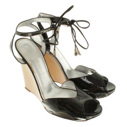 Casadei Sandaletten mit Keilabsatz