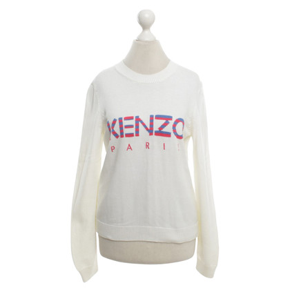 Kenzo Knitted sweater in cream