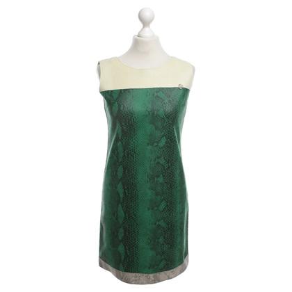 Armani Jeans Kleid mit Schlangenmuster