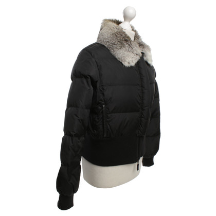 Burberry Down jacket with fur trim