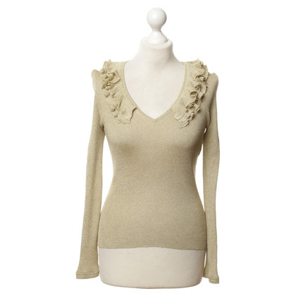 Gucci top with Ruffles