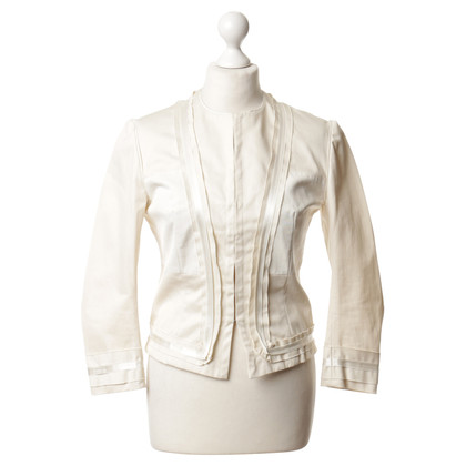 Plein Sud Jacket in cream colours