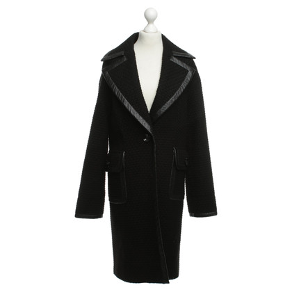 Rachel Zoe Coat in black