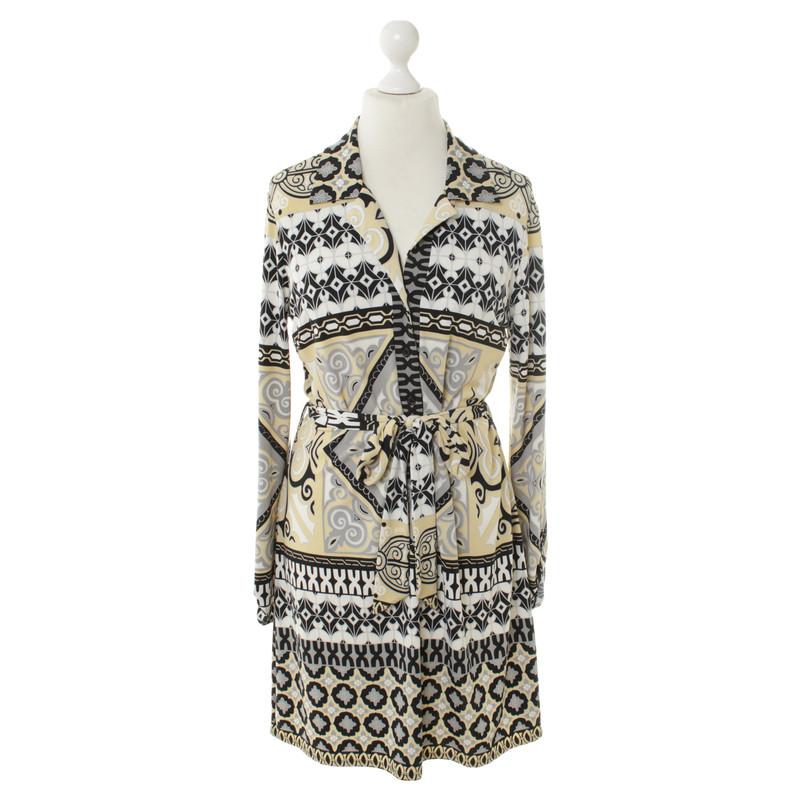 Hale Bob Gedessineerde jurk
