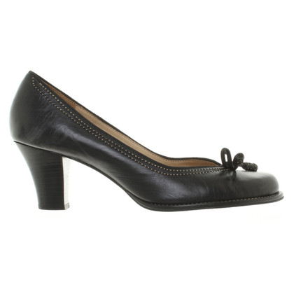 Clarks Leather-pumps in black