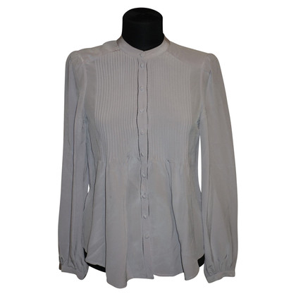 Tara Jarmon Silk blouse with draping