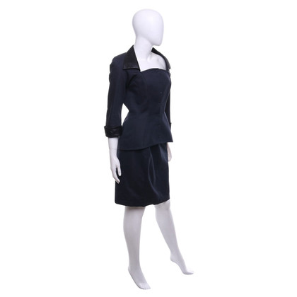 Mugler Costume in dark blue
