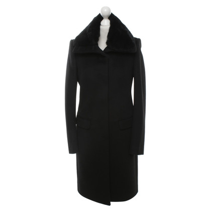 Joseph Coat with real fur trim